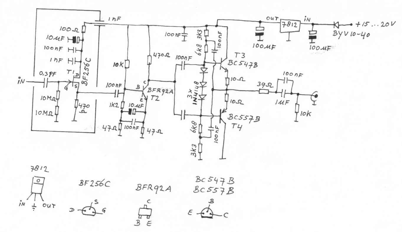 Fet amplifier for measuring lc circuits ccuart Choice Image